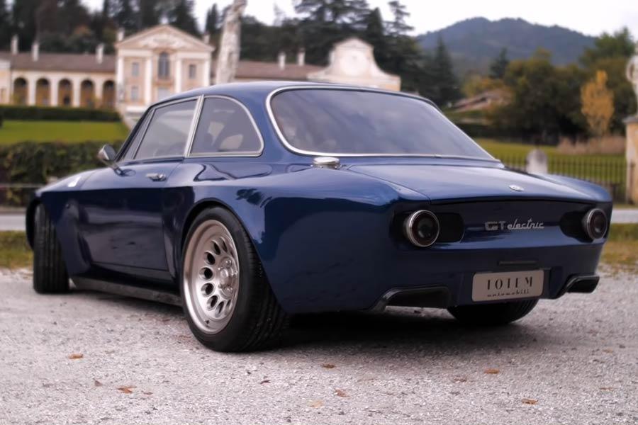 Електричен Totem GT базиран врз Alfa Romeo Giulia GT ...